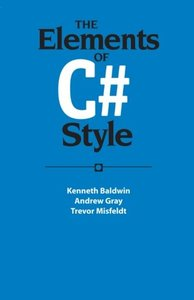 The Elements of C# Style (Paperback)-cover