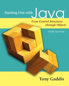 Starting Out with Java: From Control Structures through Objects, 3/e(Paperback)-cover