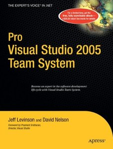 Pro Visual Studio 2005 Team System (Paperback)-cover