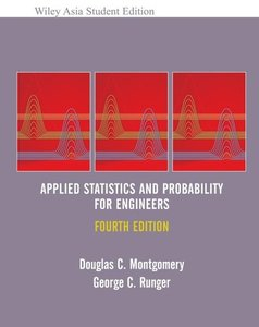 Applied Statistics and Probability for Engineers, 4/e-cover