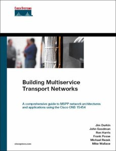 Building Multiservice Transport Networks-cover