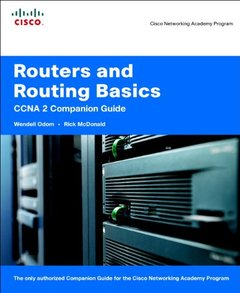 Routers and Routing Basics CCNA 2 Companion Guide-cover
