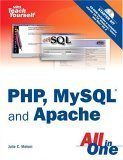Sams Teach Yourself PHP, MySQL and Apache All in One, 3/e-cover