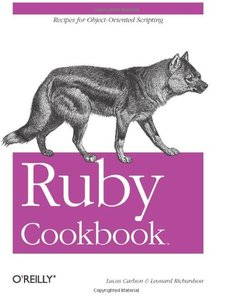Ruby Cookbook (Paperback)-cover