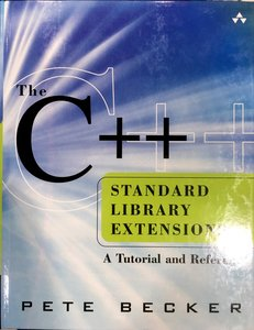 The C++ Standard Library Extensions: A Tutorial and Reference-cover