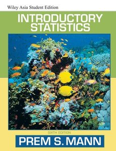 Introductory Statistics, 6/e-cover