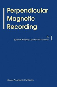 Perpendicular Magnetic Recording-cover