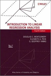 Introduction to Linear Regression Analysis, 4/e-cover