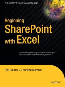 Beginning SharePoint with Excel: From Novice to Professional-cover