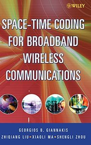 Space Time Coding for Broadband Wireless Communications (Hardcover)-cover