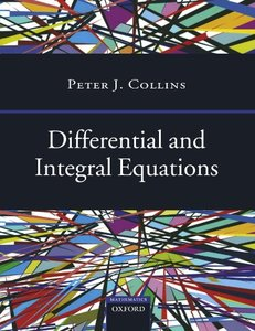 Differential and Integral Equations (Paperback)-cover