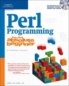 Perl Programming for the Absolute Beginner-cover