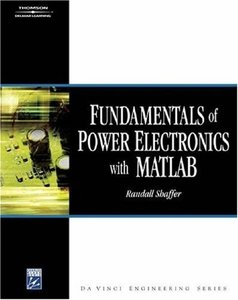 Fundamentals of Power Electronics with Matlab (Hardcover)-cover