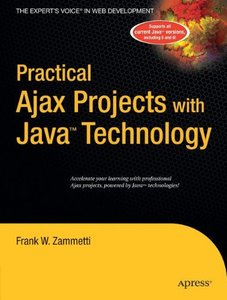 Practical Ajax Projects with Java Technology (Paperback)-cover