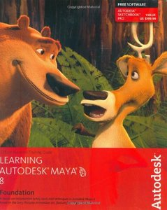 Learning Autodesk Maya 8|Foundation-cover