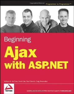 Beginning Ajax with ASP.NET (Paperback)-cover