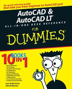 AutoCAD & AutoCAD LT All-in-One Desk Reference For Dummies-cover