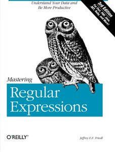 Mastering Regular Expressions, 3/e (Paperback)-cover