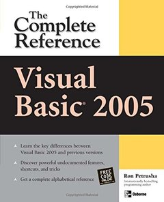 Visual Basic 2005: The Complete Reference-cover