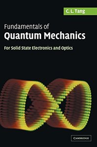 Fundamentals of Quantum Mechanics: For Solid State Electronics and Optics (Hardcover)-cover