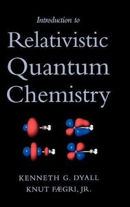 Introduction to Relativistic Quantum Chemistry-cover