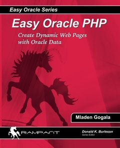 Easy Oracle PHP: Create Dynamic Web Pages with Oracle Data-cover