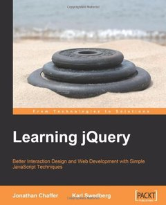 Learning jQuery: Better Interaction Design and Web Development with Simple JavaScript Techniques-cover