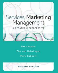 Services Marketing Management: A Strategic Perspective, 2/e-cover