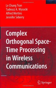 Complex Orthogonal Space-Time Processing in Wireless Communications-cover