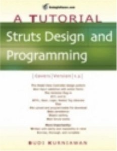 Struts Design and Programming: A Tutorial-cover