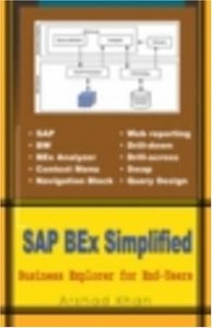 SAP BEx Simplified: Business Explorer for End-Users (Paperback)-cover