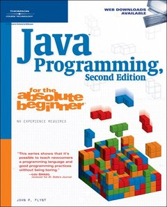 Java Programming for the Absolute Beginner, 2/e (Paperback)-cover