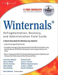 Winternals: Defragmentation, Recovery, and Administration Field Guide-cover