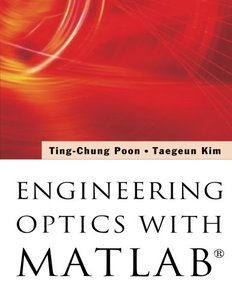 Engineering Optics With Matlab-cover