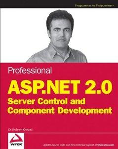 Professional ASP.NET 2.0 Server Control and Component Development-cover