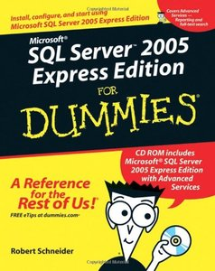 Microsoft SQL Server 2005 Express Edition For Dummies-cover