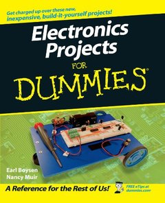 Electronics Projects For Dummies (Paperback)-cover