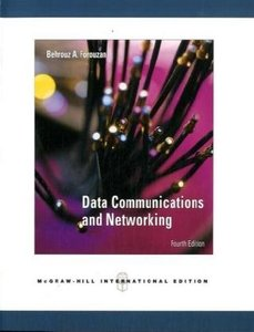 Data Communications and Networking, 4/e (IE-Paperback)-cover