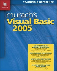 Murach's Visual Basic 2005: Training & Reference-cover