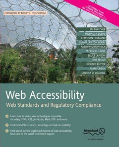 Web Accessibility: Web Standards and Regulatory Compliance-cover