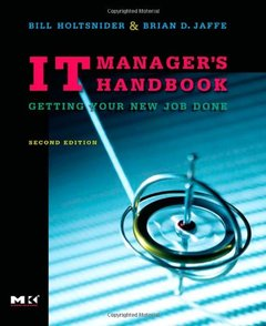 IT Manager's Handbook, 2/e: Getting your new job done (Paperback)-cover