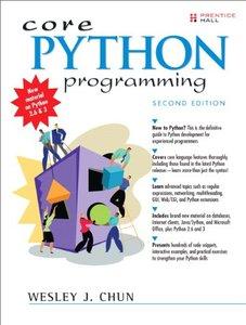 Core Python Programming, 2/e (Paperback)-cover