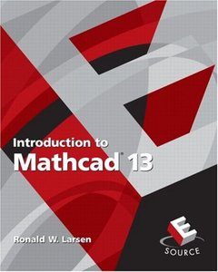 Introduction to MathCAD 13, 2/e-cover