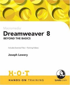 Macromedia Dreamweaver 8 Beyond the Basics Hands-On Training-cover