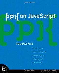 ppk on JavaScript (Paperback)-cover