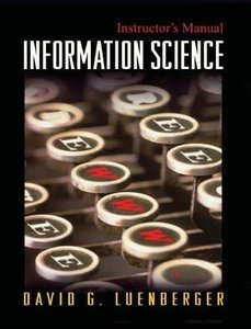 Information Science (Hardcover)-cover