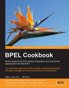 BPEL Cookbook: Best Practices for SOA-based integration and composite applications development (Paperback)-cover