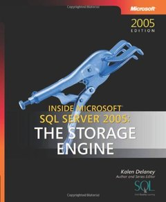 Inside Microsoft SQL Server 2005: The Storage Engine (Paperback)-cover