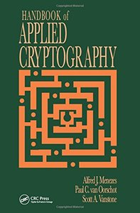 Handbook of Applied Cryptography (Hardcover)-cover
