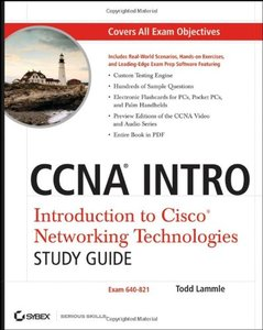 CCNA INTRO: Introduction to Cisco Networking Technologies Study Guide: Exam 640-821-cover